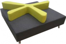Eclipse Splash Ottoman - ECSFSO