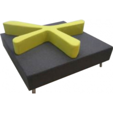 Eclipse® Splash Ottoman - ECSFSO
