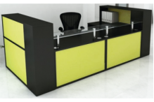 Eclipse Cubic Reception Desk - ECCRD