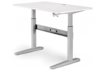 Eclipse Manual Sit and Stand Desk 1500 x 750 - BELTM15750