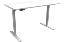 Eclipse Electric Sit and Stand Desk 1050 x 600 - BELT1050