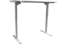 Eclipse Electric Sit and Stand Desk Frame 1500 -1800 x 750 - BELTF