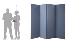 Eclipse Hinged Room Dividers - ECHRD