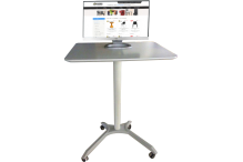 Eclipse® Sit / Stand School Desk - DAHPSD