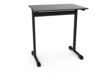 Eclipse®  Optimum T leg Student Desk Fixed Height 750mm h - DFLT700