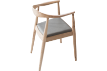 Eclipse Opale Due Timber Chair - ETCHOD