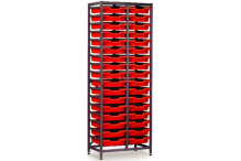 Eclipse Tray Trolley 2 Bay Tall - ECTT2BT