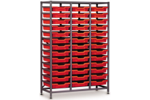 Eclipse Tray Trolley 3 Bay Tall - ECTT3BT