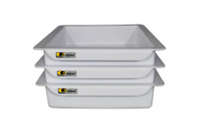 Eclipse® Plastic Tote Trolley Trays - DET8
