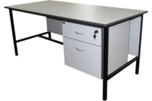 Eclipse Pilbara Metal Frame Desk - EMFD