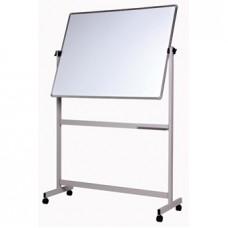 Mobile Pivoting Whiteboard 1200mm x 900mm - VMWB1209P